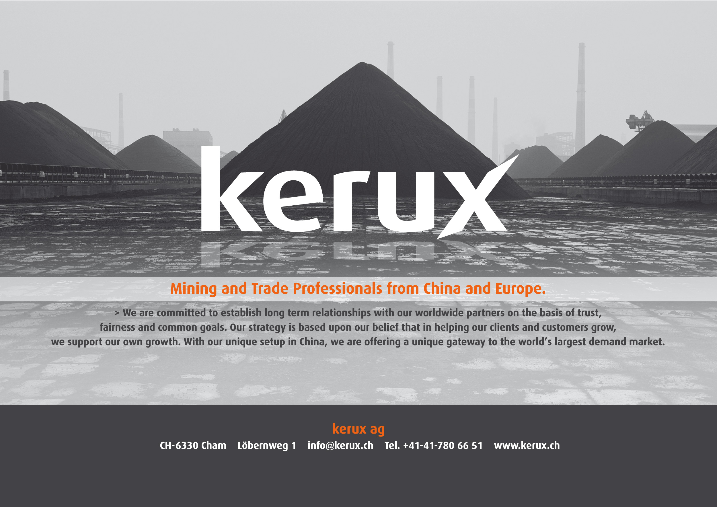 kerux - Mining and Trade Professionals from China and Europe